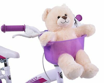 Kids Bike Teddy Bear Toy Or Dolly Carrier To Fit On Handlebars 3 Colours  • 18.99£