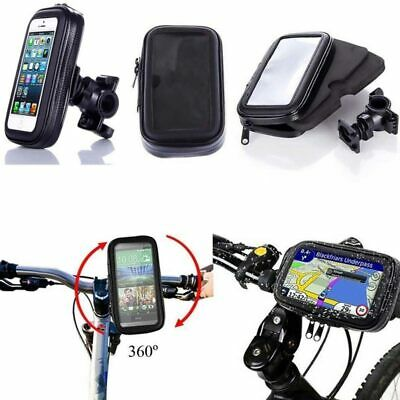 360° Bicycle Motor Bike Waterproof Phone Case Mount Holder For All Mobile Phones • 11.98£
