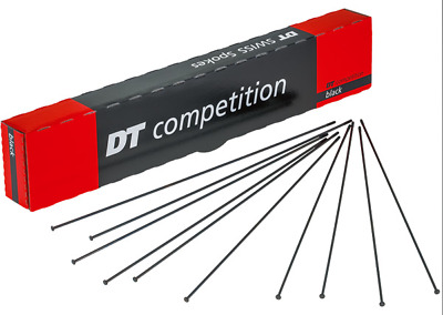 DT Swiss Competition Double Butted Straight Pull Spokes 2.0 - 1.8 - All Sizes • 3.29£