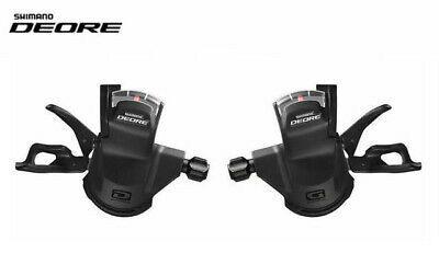 Shimano Deore M610 10 X 3 Or 10 X 2 Speed Shifter Set - Including Gear Cables • 16.99£