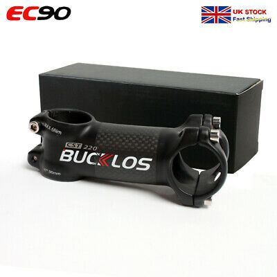 EC90 1PC 6/17 Degree Stem 60-120mm Caron+Aluminum MTB Road Bike Handlebar Stem • 16.98£