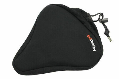 Extra Wide Gel Saddle Cover / Bike Seat Cover 25 X 24cm • 9.99£