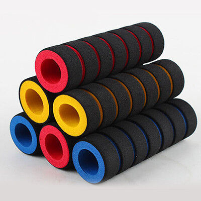 Soft BMX MTB Cycle Road Mountain Bicycle Scooter Bike Handle Bar Grips Hot UK • 2.48£