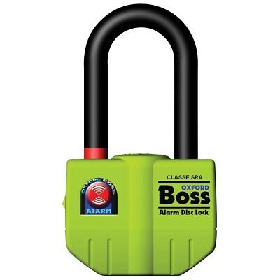 Oxford Boss Ultra Strong Alarmed 14mm Disc Lock OF3 Thatcham Approved *LAST FEW* • 45.50£