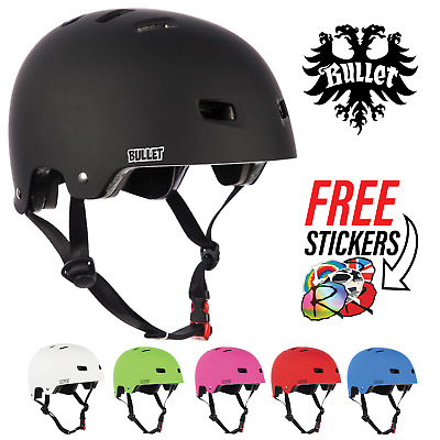 Bullet Safety Gear Skate/BMX/Scooter/Derby Deluxe Protection Helmet • 25.15£