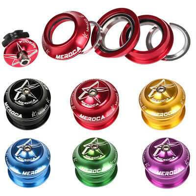 44mm 1/8  Mountain Bike  Bicycle Cycling Aluminum Threadless External Headset UK • 9.79£