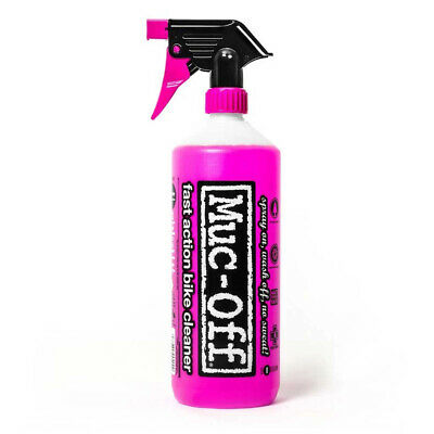 Muc-Off Nano Tech Bike Cleaner 1L Biodegradable Cleaner For All Types Of Bicycle • 11.99£