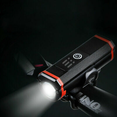 Bicycle Headlight USB Rechargeable Light Bike Front Light Cycling Waterproof LED • 14.99£