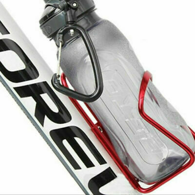 Aluminium Alloy Mountain Bike Water Bottle Holder Bicycle Drink Water Rack Cages • 5.55£