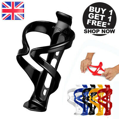 2 × Bracket Bicycle Cycling Mountain Bike Water Bottle Cup Drinks Holder Cage UK • 5.59£