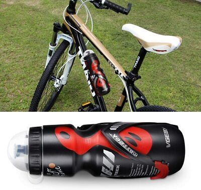 Water Bottle+Holder Cage Rack Mountain Cycling Bike Bicycle Kit Exercise Stand • 8.79£