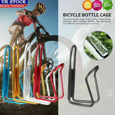Aluminium Alloy Mountain Bike Water Bottle Holder Bicycle Drink Water Rack Cages • 4.69£