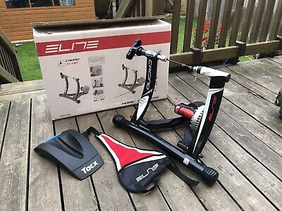 Elite Chrono/crono Fluid Elastogel Turbo/Home Trainer With Skewer And Riser • 77£