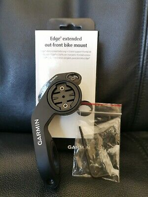 Garmin Edge Extended Out Front Mount,Black Standard Packaging • 1.20£