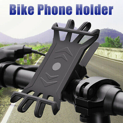 Bike Bicycle Phone Holder Mountain Road Bike Handlebar Mount Bracket Magic Claw • 6.99£