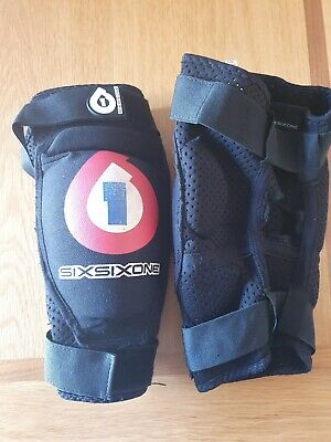 661 SixSixOne Kyle Strait Knee Pads  - Small Adult • 12£