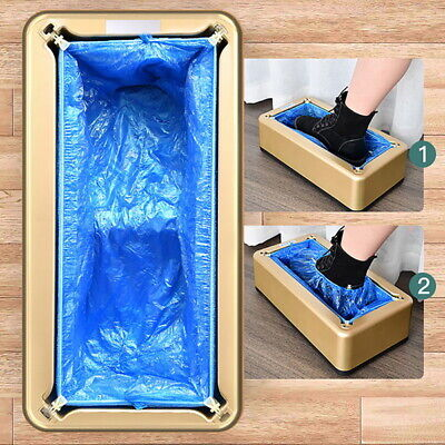 UK Automatic Shoes Cover Dispenser Automatic Shoes Covers Machine Home WOR • 12.64£