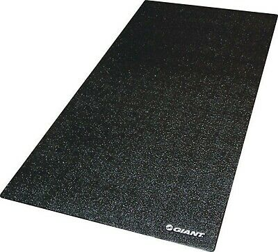 Giant Cyclotron Indoor Bicycle Training Mat With Bag - 91cm X 183cm - Black  • 34.99£