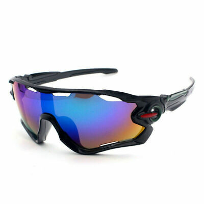FOR Men Unbreakable Polarized Cycling Glasses Sports Glasses Sunglasses Goggles • 5.85£