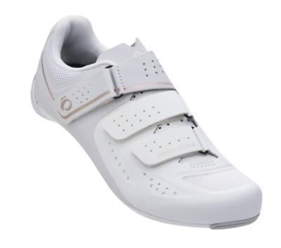 Pearl IZUMi W Select Road V5 Women's Bicycle Cycle Shoes White NEW Size UK 7 41 • 69.99£