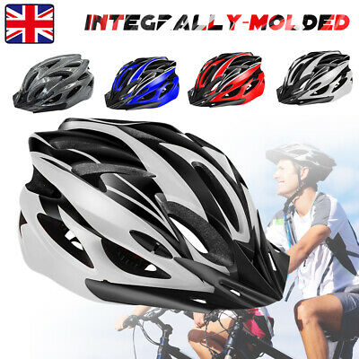 Adult Mens Ladys Bike Helmet Cycling Adjustable Safety Helmet Outdoor Protective • 10.99£