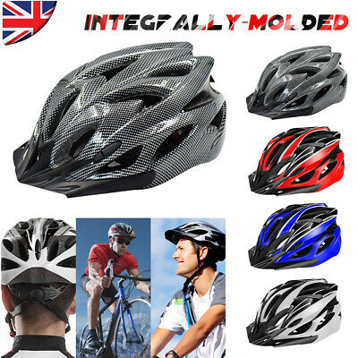 Adult Mens Ladys Bike Helmet Cycling Adjustable Safety Helmet Outdoor Protective • 11.99£