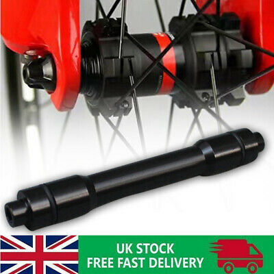 15mm To 9mm Bicycle Hub Quick Release Skewer Replacement Axle Thru Alloy Adapter • 6.99£