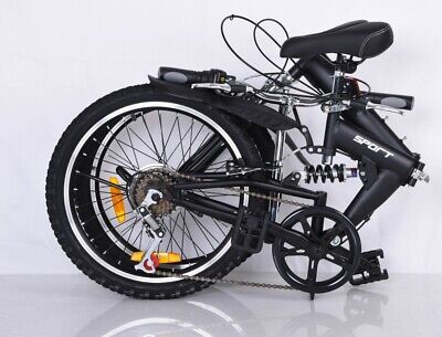 Foldable Bicycle 20 Inch Suspension - New Design - Quality Product 6 Speed • 165£