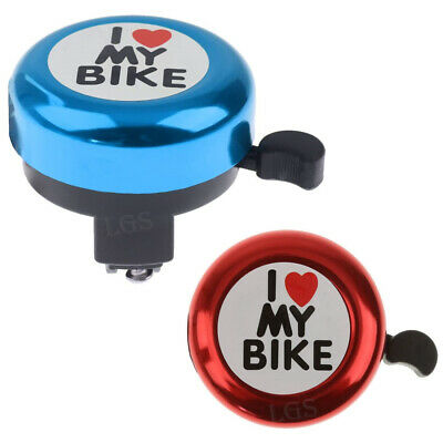 Bicycle Bell Aluminum Alloy Bike Bell MTB Handlebar  Ring Invisible Q Bell • 3.29£