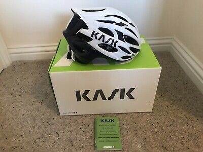 Kask Mojito 16 Helmet Medium 48-58 Cm. White And Blue Very Comfortable. • 45£
