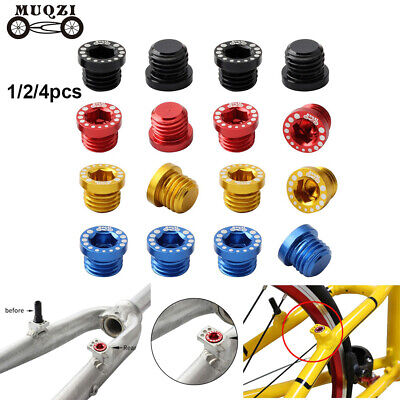Dust-proof Bike Replacement Bicycle Screw Bolt V Brake Boss MTB Fixed Gear • 3.53£