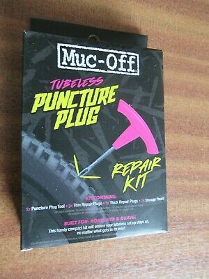 Muc-Off Puncture Plug Repair Kit - 2020 - One Size - Damaged In Transit • 8£