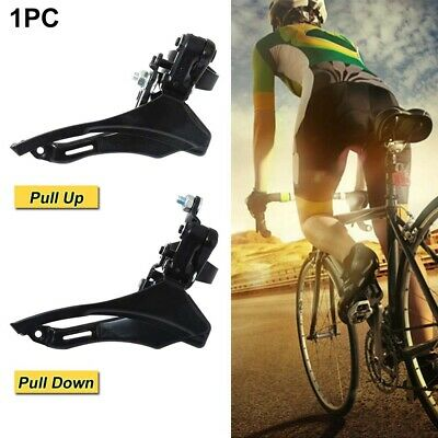 FD-TZ30 6/7/8 Speed Bike Bicycle Front Derailleur 31.8mm Pull-Down / Pull-Up • 6.69£