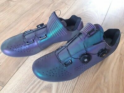 Chameleon Speed Boa Road Cycling Shoes Reflective Colour Change New UK 11 Ish • 24.99£