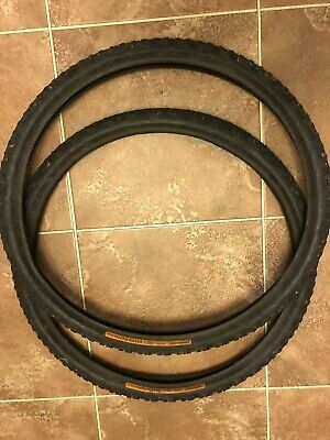Continental Double Fighter Basic  26 X 2.0  MTB Tyres - Pair • 2.50£