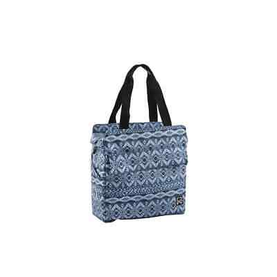 Willex Bicycle Pannier Indigo 15L Blue Single Cycle Tote Bag Shopping Carrier • 41.09£