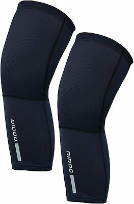 Didoo Knee Warmers Cycling Men Compression Brace Sleeve Support Muscle Relief • 9.45£