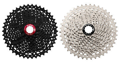 SunRace MX3 / MS3 11-42T 10 Speed Shimano / SRAM MTB Cassette - Black Or Silver • 44.99£