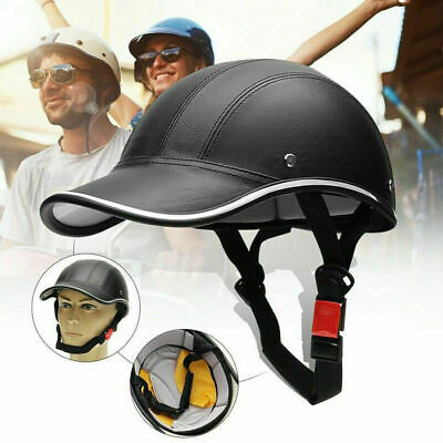 Unisex Baseball Cap Style Motorcycle Bike Safety Helmet Mtb Road Cycling Hat  • 13.56£
