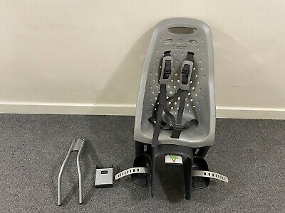Thule Yepp Maxi - Post Mounted Bike Seat - Silver - All Fittings Included • 70£