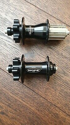 Hope XC Hubs 32H Black (Pair) • 53£