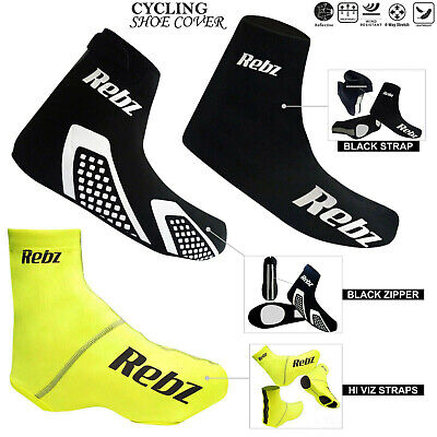 Cycling Shoe Cover Bicycle Dust & Mud Proof Overshoe Sportswear UK Size • 8.99£