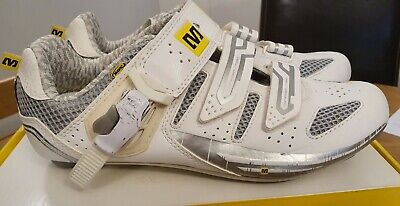 Mavic Cycling Shoes White Size UK 5½, EU 38½ In Original Box. • 19.99£