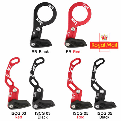 UK MTB Bike Chain Guide Bash Guard For Single Ring ISCG 03/05/BB Fit Mount Road • 7.65£
