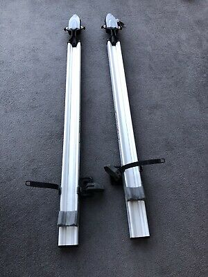 Thule Velo Vise Pro, Fork Mounted Cycle /Bike Carrier's X2 For Square Roof Bars • 35£