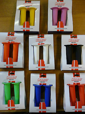 Skyway Flange TUFF BMX Handlebar Grips Cycle Bicycle Bike 8 Colours NEW  • 9.99£