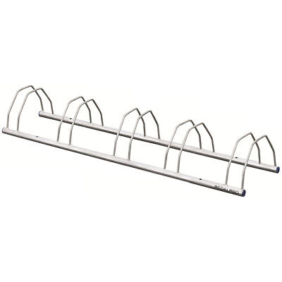5 Bike Galvanized Floor/wall Mounted Bicycle Storage Rack Stand For Bikes/cycle • 14.99£