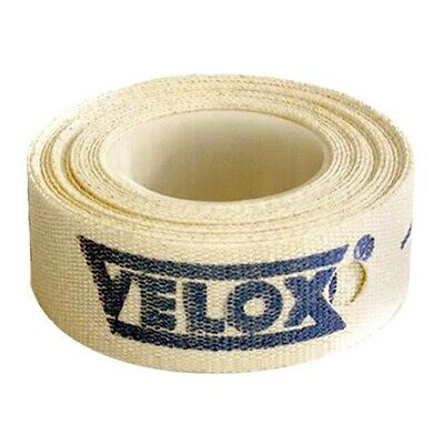VELOX BIKE BICYCLE CYCLE WHEELS CLOTH RIM TAPE - (Sizes: 10, 13, 16, 19, 22 Mm) • 3.49£