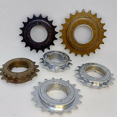 DICTA Chrome BMX Freewheel 18T / 16T / 14T Single Speed Cog Sprocket 1/2  X 1/8  • 13.99£