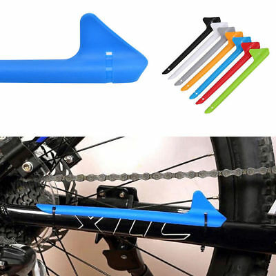 Road Bike Bicycle Cycle Frame Chain Guard Protector Plastic Chainstay  • 2.49£